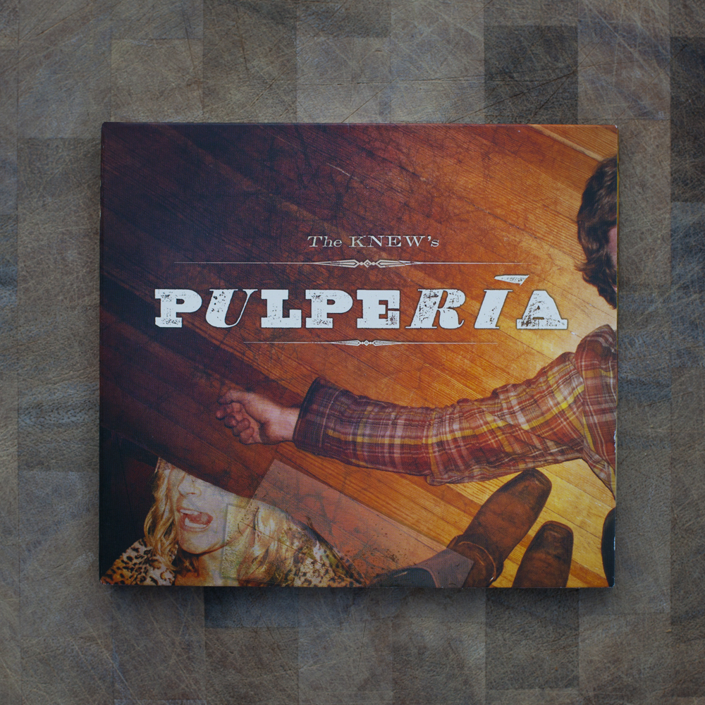 The Knew, Pulperia CD Packaging - Todd Roeth
