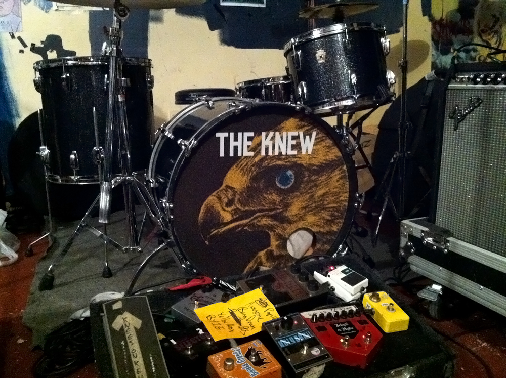 The Knew, Drumhead - Todd Roeth