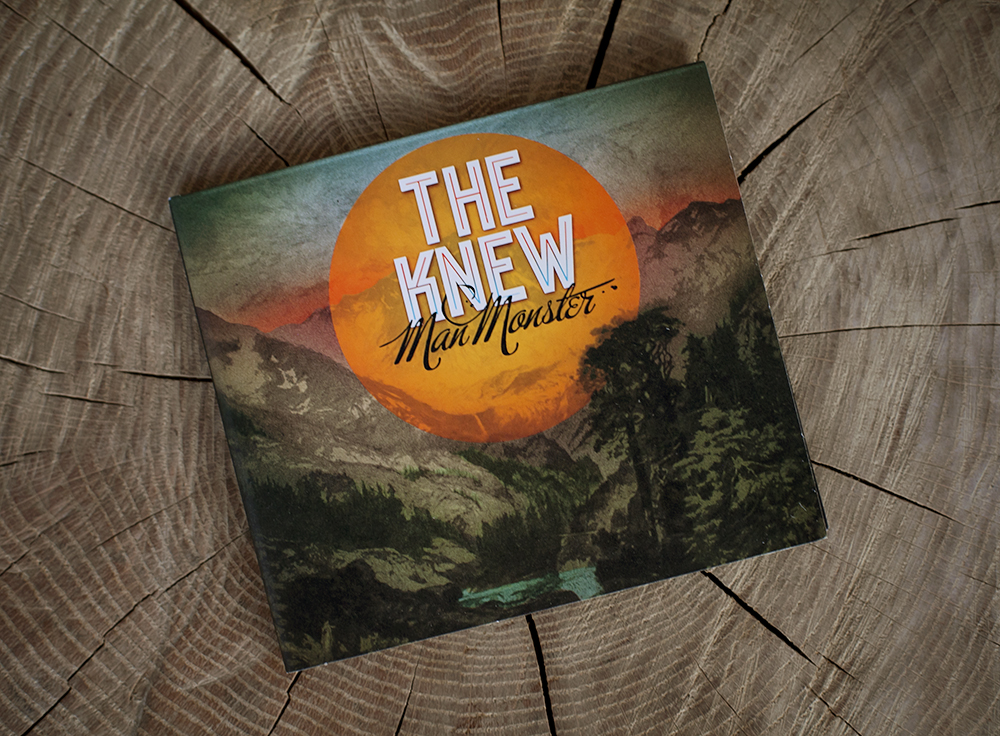 The Knew, CD Package design - Todd Roeth