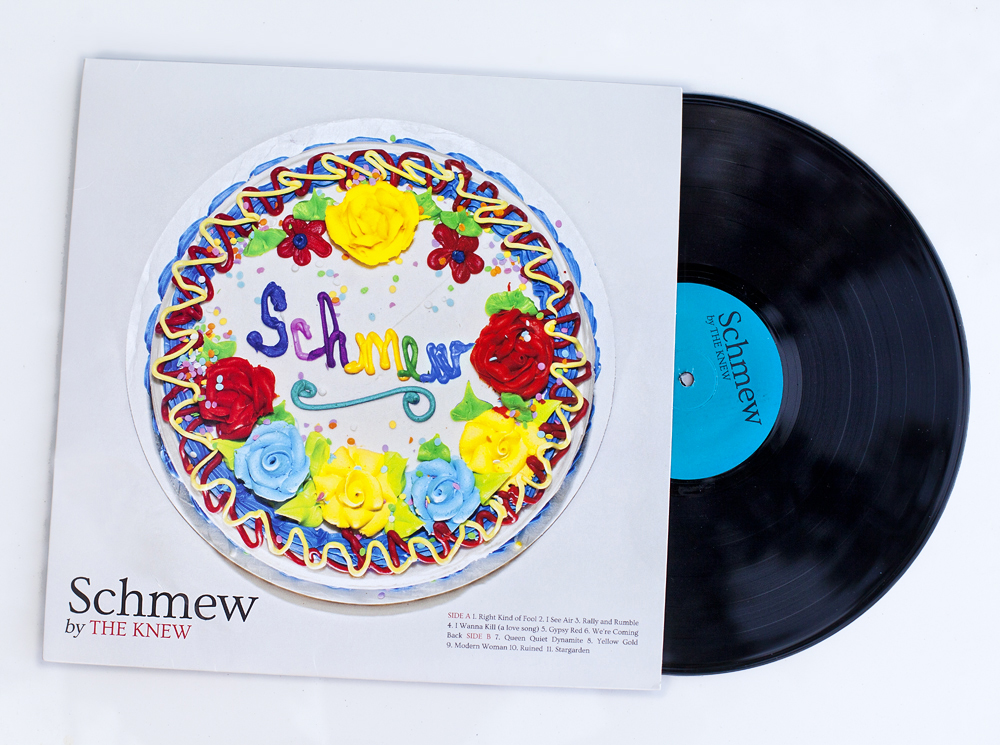 The Knew, Schmew Album Design - Todd Roeth