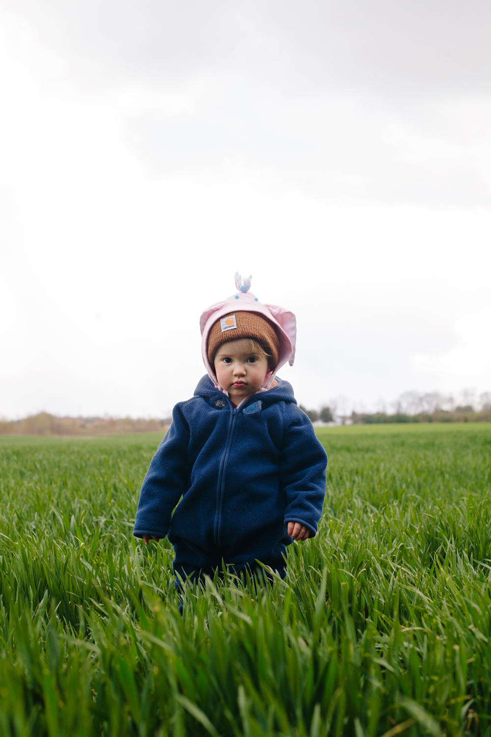 Willadeane in the Winter Wheat - Todd Roeth