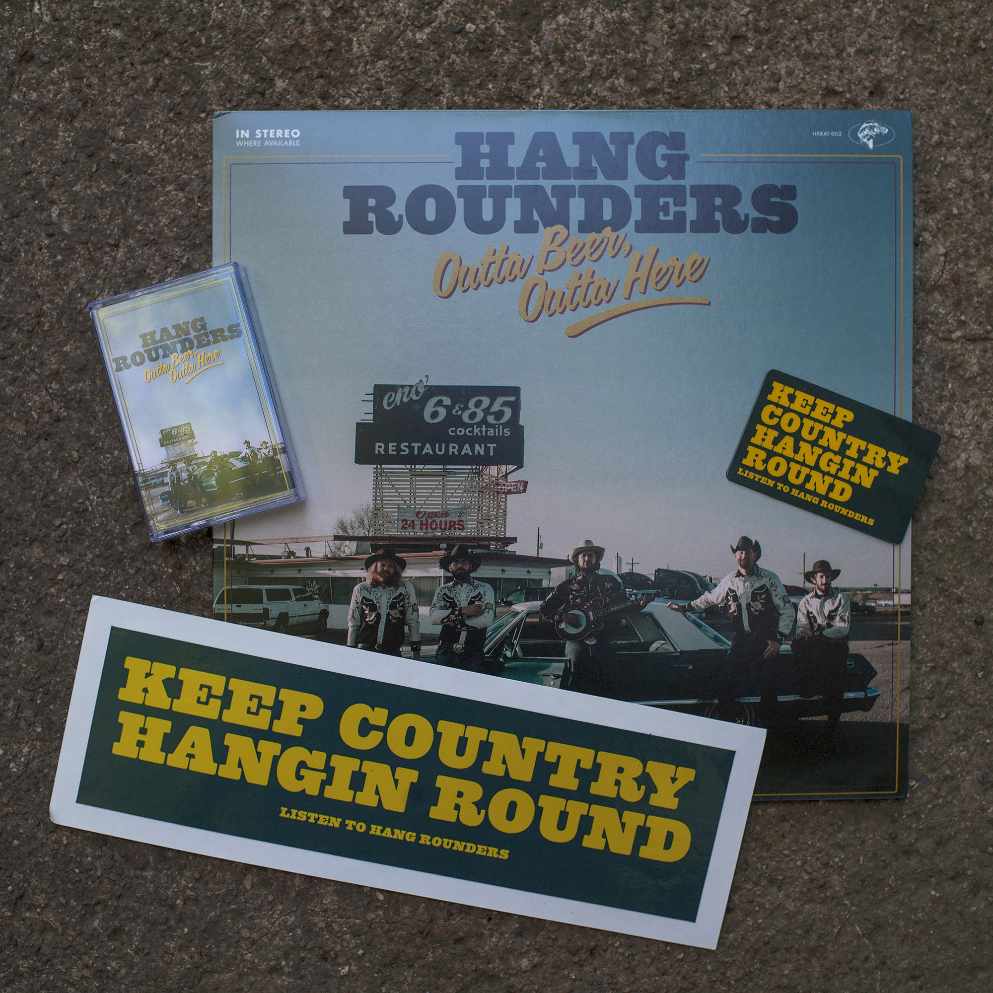 Hand Rounders Album Design - Todd Roeth